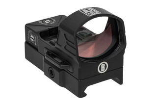 The Bushnell AR Optics first strike reflex sight features a durable aluminum body