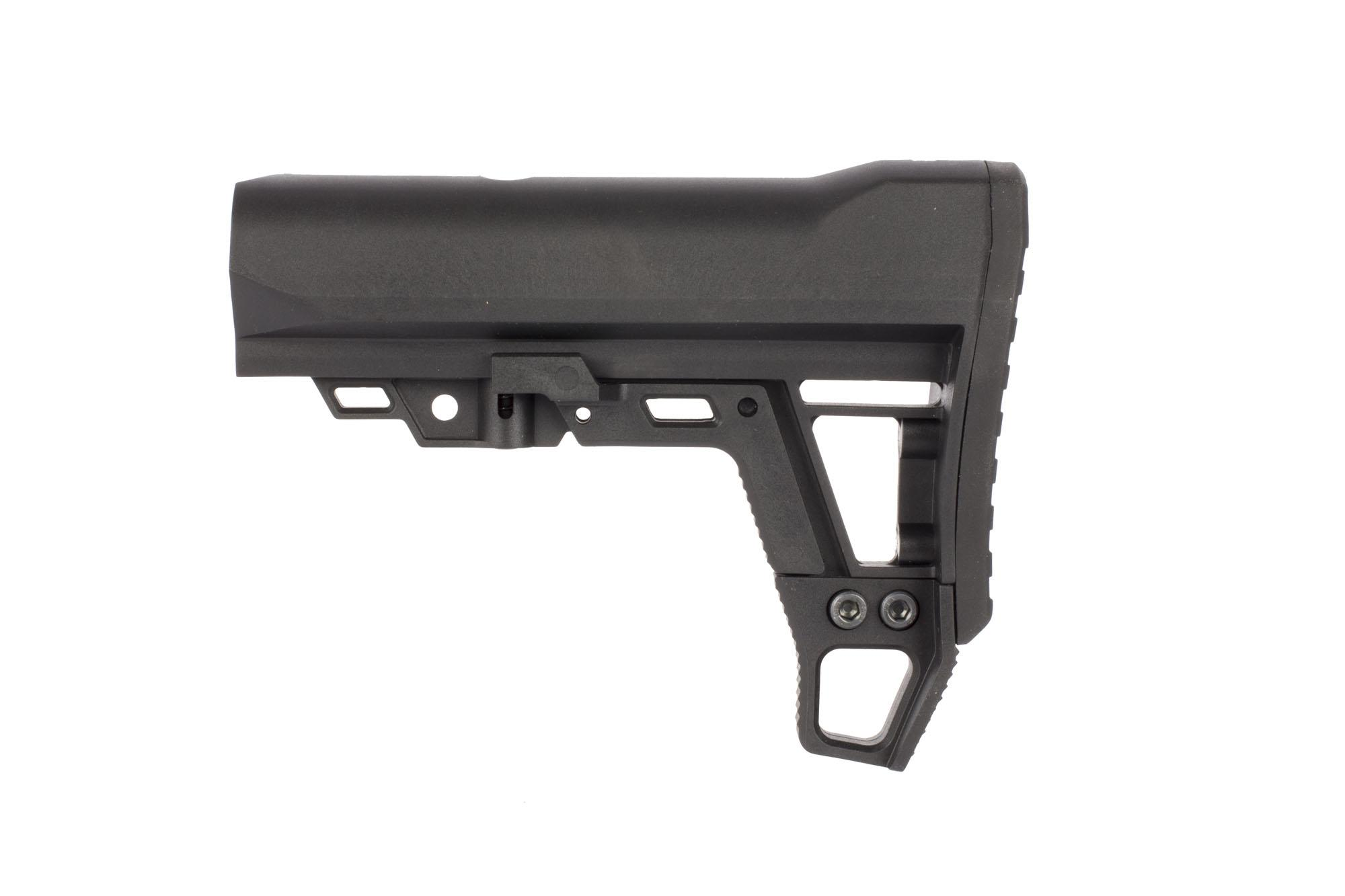 The Aimsports AMS AR15 collapsible carbine stock is made from durable and lightweight polymer