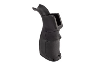 Guntec USA Neoprene AR-15 pistol grip with ergonomic finger grooves.