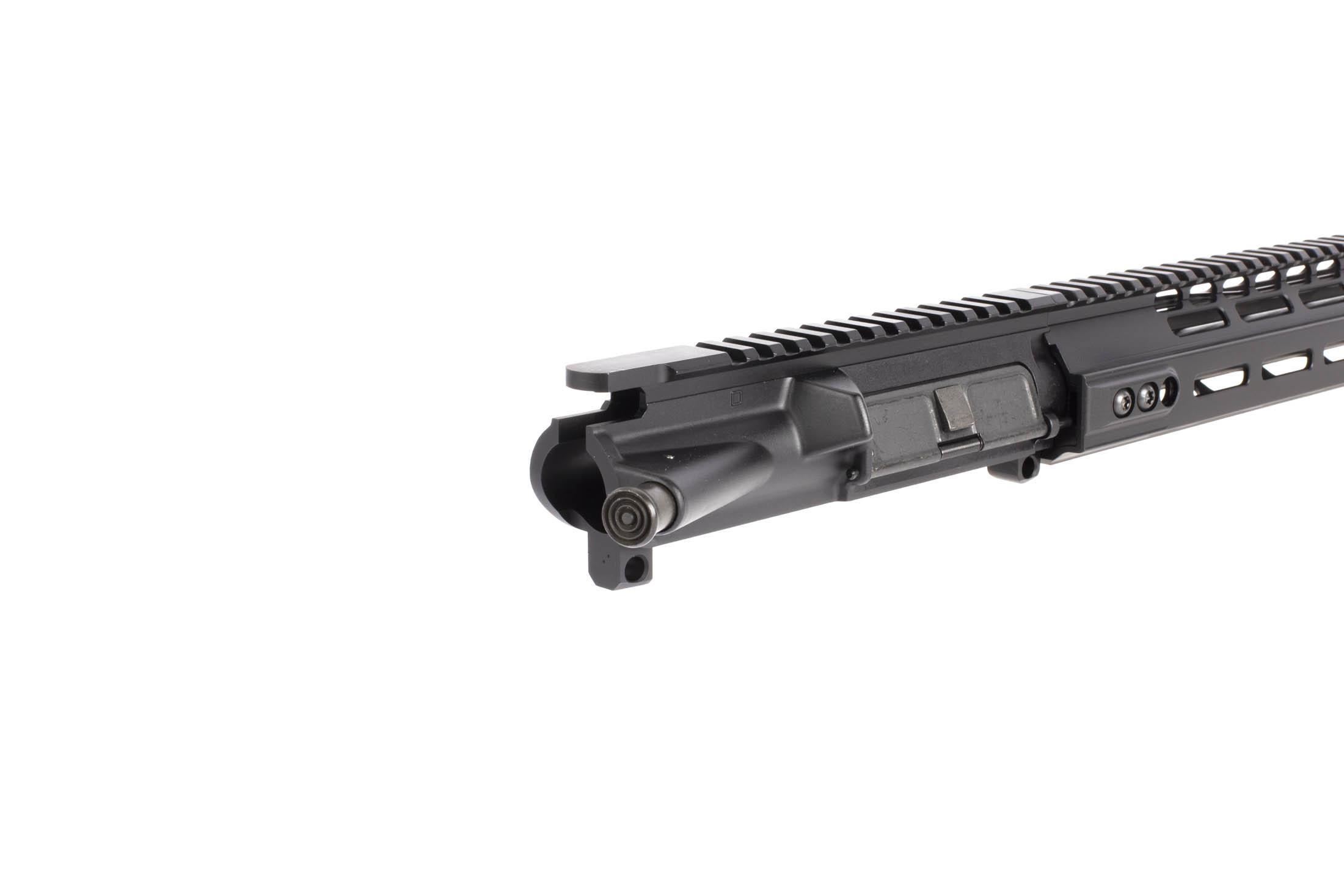 The ar15 complete barreled upper receiver from KDG and Primary arms has a full length picatinny rail