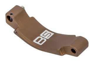 The B5 Systems FDE Aluminum Trigger guard is designed for use with gloves