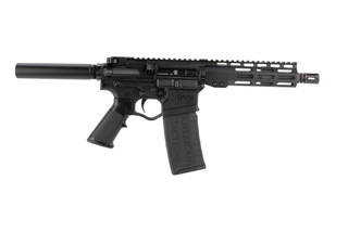 American Tactical Omni Maxx Hybrid AR15 556 pistol features a 7.5 inch barrel