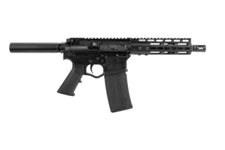 ATI Omni Hybrid Maxx AR15 Pistol is chambered in 5.56 with a 7.5 inch barrel
