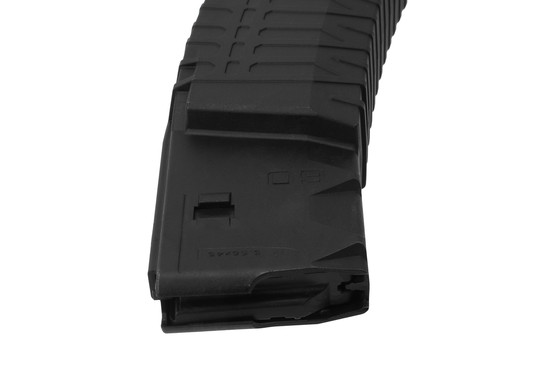 Schmeisser 2nd generation coffin mag features a 60-round capacity for 5.56 NATO ammunition