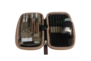Real Avid Gun Boss AR15 Cleaning Kit comes in a compact pouch