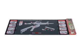 Real Avid AR-15 Master Cleaning Station provides a full-size cleaning mat, cleaning kit, and detailed instructions to maintain your AR-15.