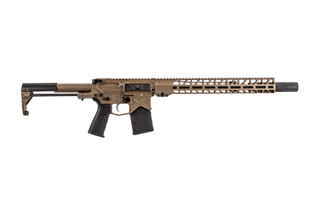 "Battle Arms Development Authority Kali PDW is a california compliant 18.5"" AR 15 with FDE finish"