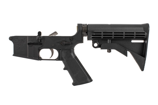 Anderson Manufacturing complete lower receiver for the AR-15 with speed hammer and M4 stock