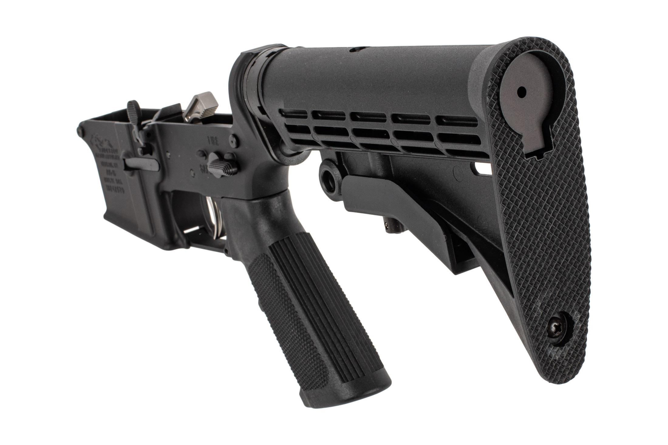 Anderson AR-15 complete lower receiver with stock and pistol grip