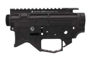 The Battle Arms Development billet AR15 upper and lower receiver set is machined from 7075-T6 aluminum