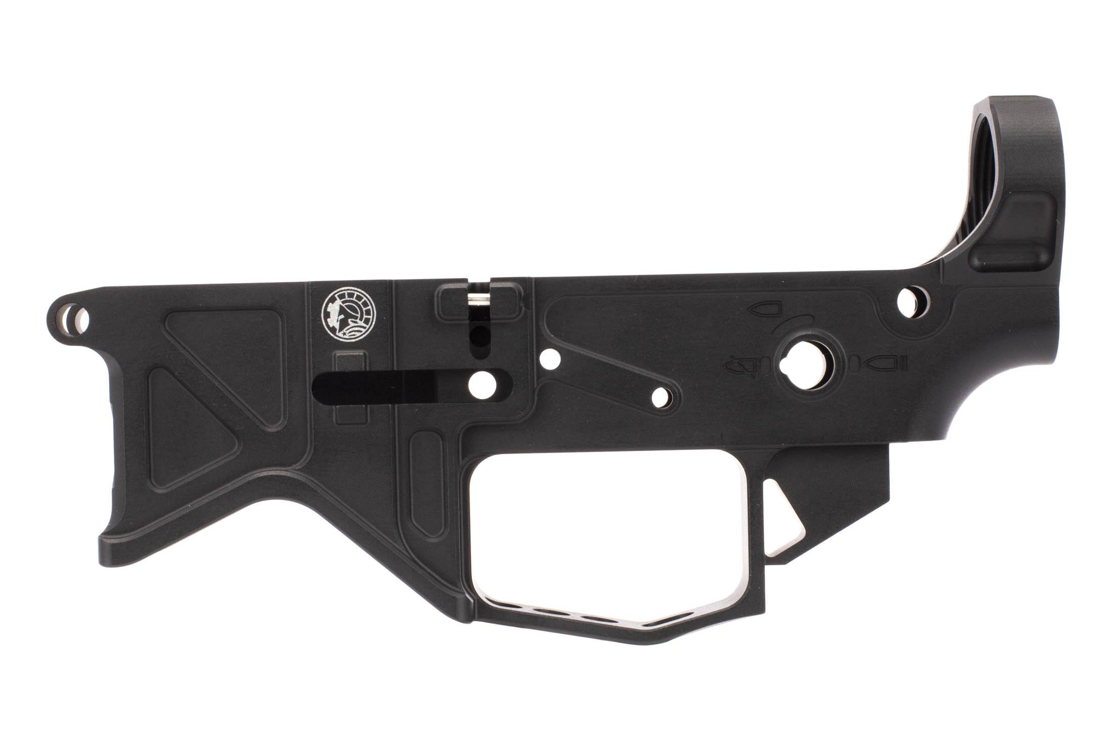 The Billet AR-15 lower receiver from Battle Arms Development features an enlarged trigger guard for gloved use