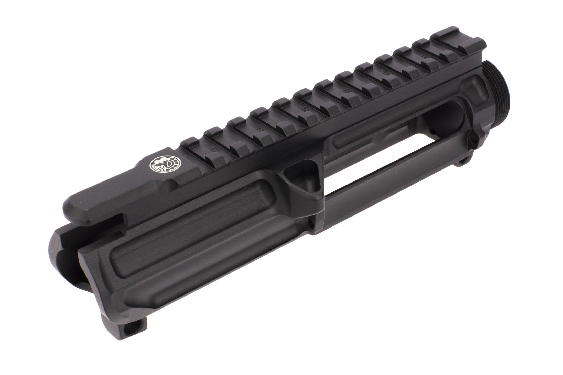 The Battle Arms Development AR 15 upper receiver is compatible with Mil-Spec components