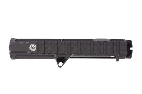 The Battle Arms upper receiver with M4 flat top picatinny rail has been de-burred for a smooth finish