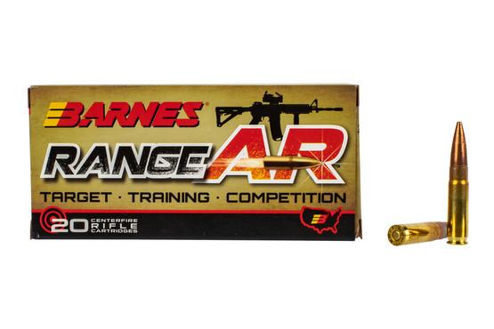 Barnes Range AR .300 Blackout 90gr OTFB Ammo - Box of 20