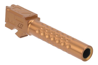 Zev Technologies Glock 19 Optimized Match Barrel Gen 1-5 features a bronze anodized finish