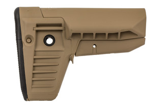 Bravo Company BCMGUNFIGHTER Mod 1 SOPMOD stock is made from FDE polymer