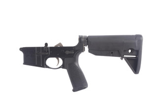 The BCM ar15 lower receiver assembly comes with a bcm trigger, mod 3 pistol grip, and an enhanced trigger guard