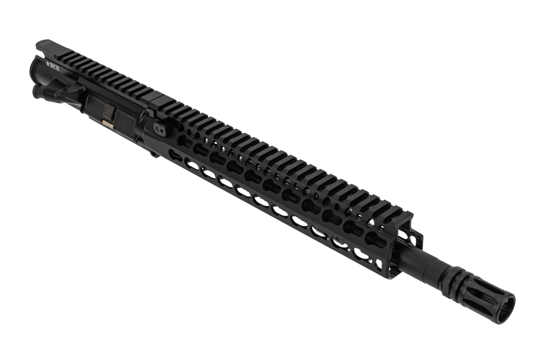 Bravo Company Manufacturing MK2 AR15 barreled upper receiver features a 12.5 inch barrel and KMR handguard
