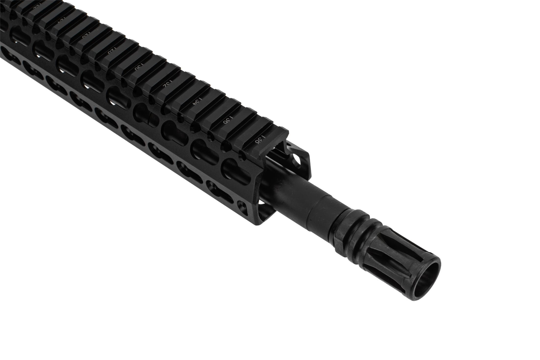 BCM MK2 AR 15 barreled upper receiver 12.5 with KMR features an A2 flash hider