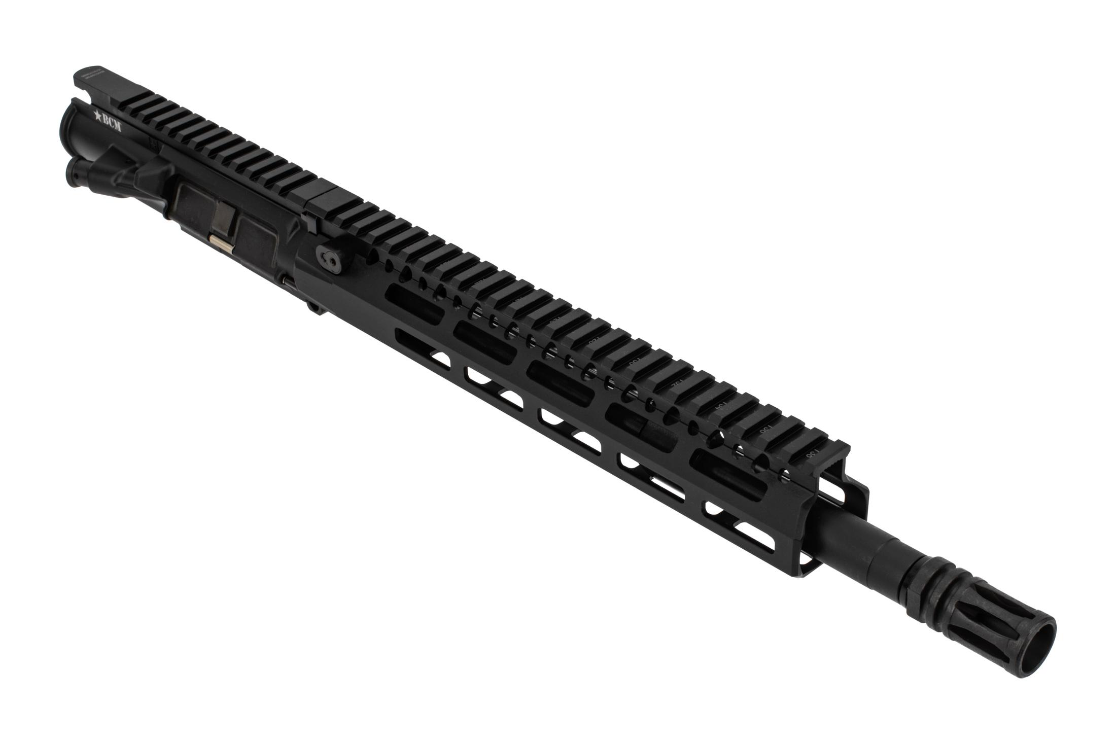 Bravo Company Manufacturing MK2 AR15 Barreled Upper Receiver features a 12.5 inch barrel and MCMR rail