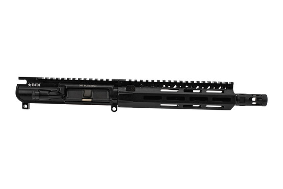 Bravo Company MK2 300 BLK Barreled AR15 upper receiver features a 9 inch barrel and pistol gas system