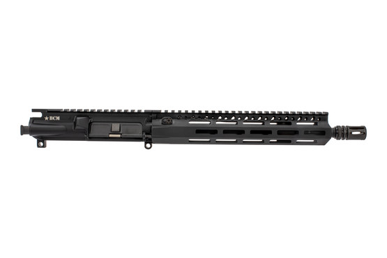 The Bravo Company AR15 barreled upper comes with a fully assembled forward assist and dust cover