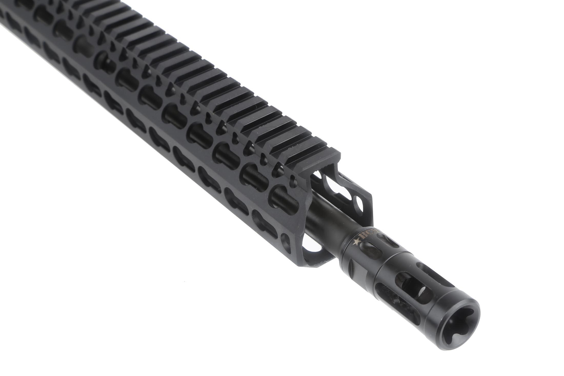 "Bravo Company Manufacturing 16 300 BLK 1:7 Tapered Contour Barreled Upper - 15"" KeyMod KMR Alpha Rail"