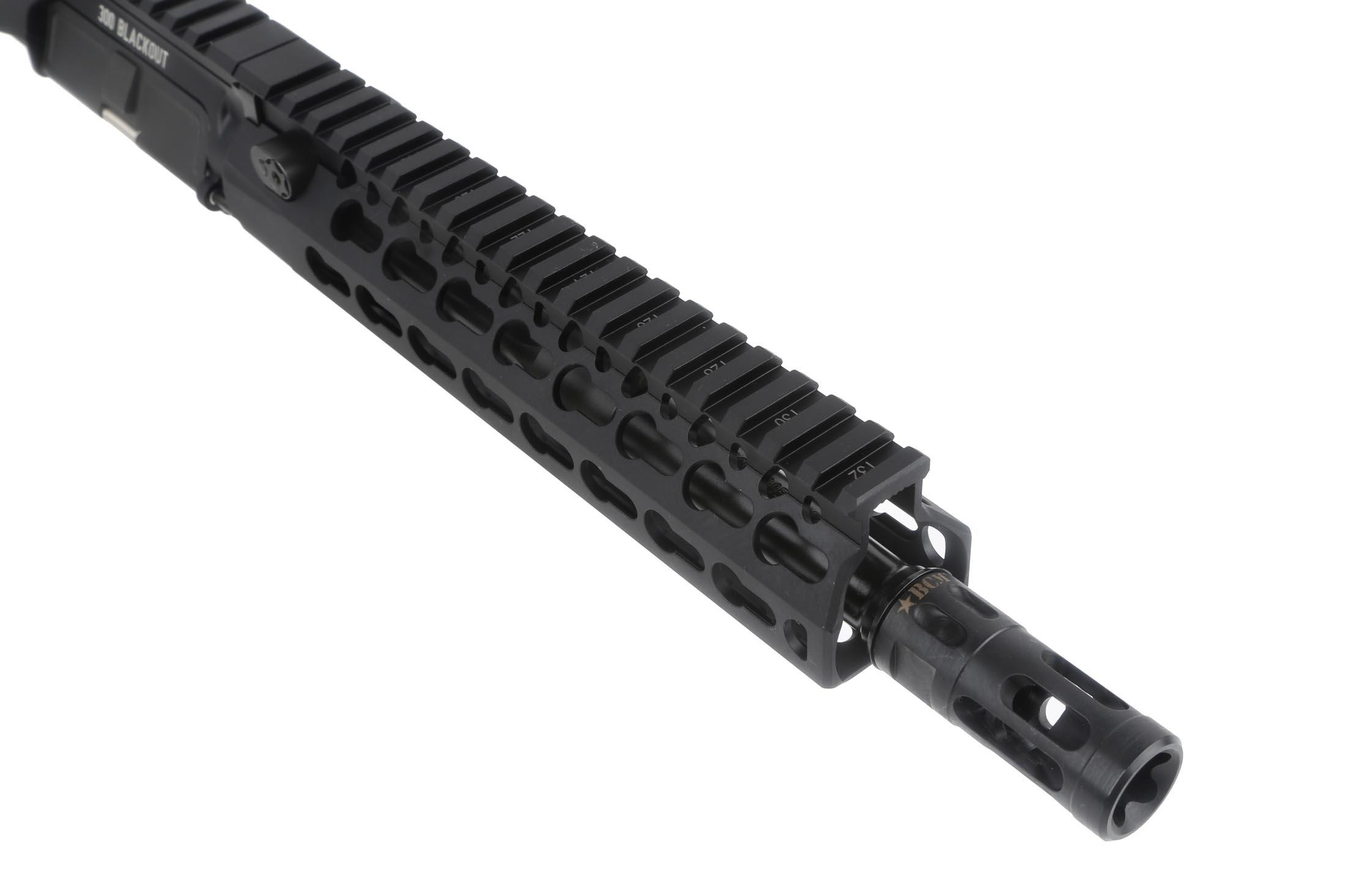 The Bravo Company Manufacturing Barreled 300 BLK Upper features a muzzle brake