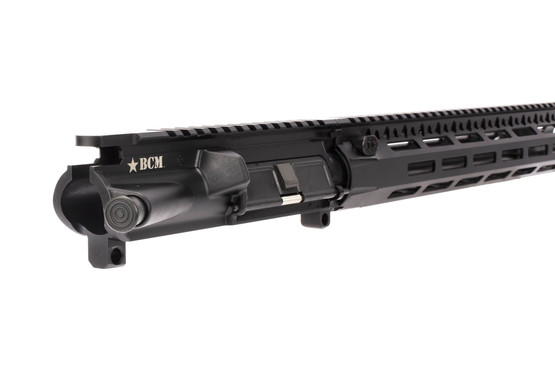 BCM 5.56 NATO barreled AR-15 upper with 14.5in enhanced lightweight barrel with forward assist and port door