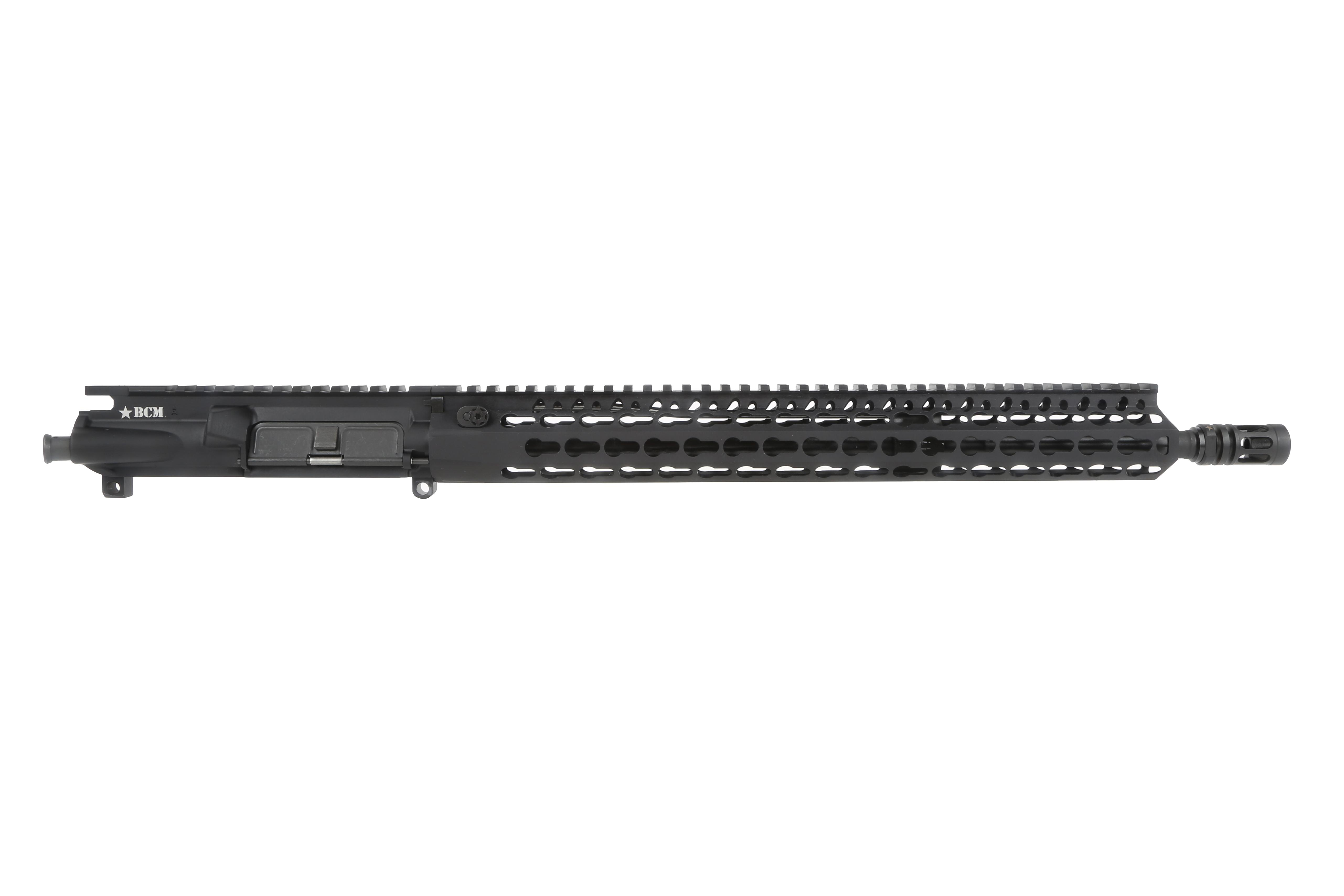 "Bravo Company Manufacturing 16 5.56 NATO 1:7 Enhanced Light Weight Barreled Upper - 15"" KeyMod KMR Alpha Rail"