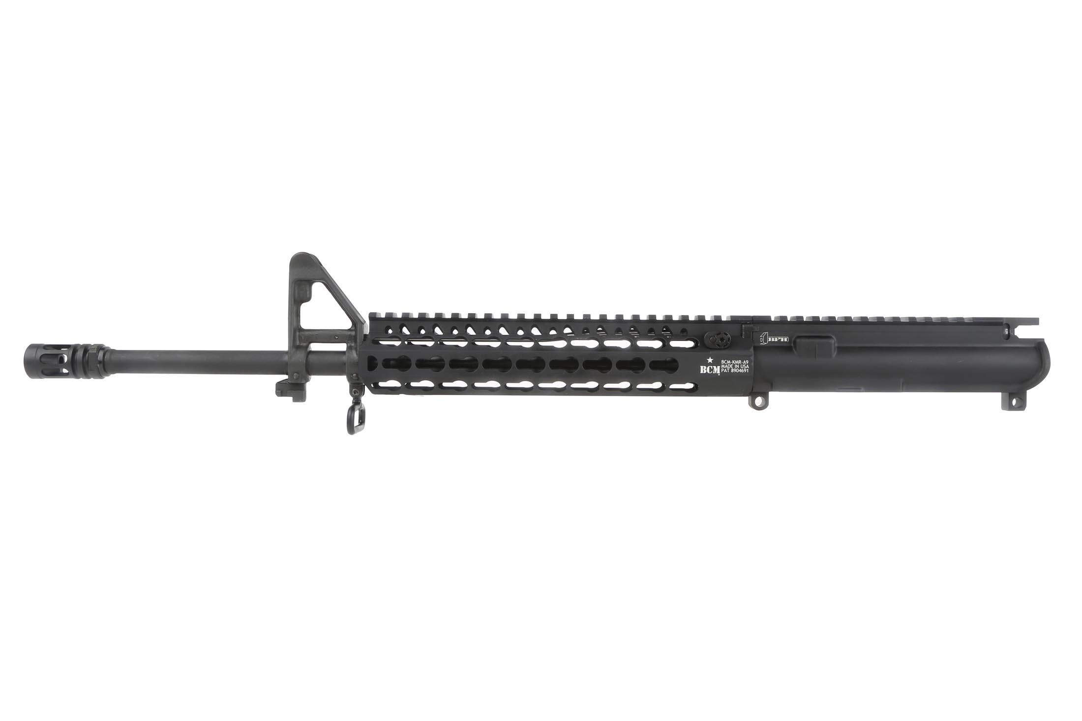 "Bravo Company Manufacturing 16 5.56 NATO 1:7 Light Weight Barreled Upper - 9"" KeyMod KMR Alpha Rail"