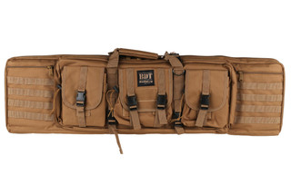 "Bulldog Cases Tactical Series 43"" Single Rifle Case Tan, BDT40-43T"
