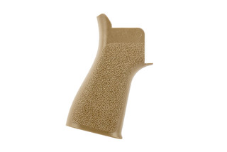 The Tango Down Grip Battlegrip for AR15 rifles features a reduced angle and FDE finish