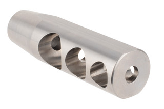 Radical Firearms Rolling Thunder titanium 308 muzzle brake features a three chamber design