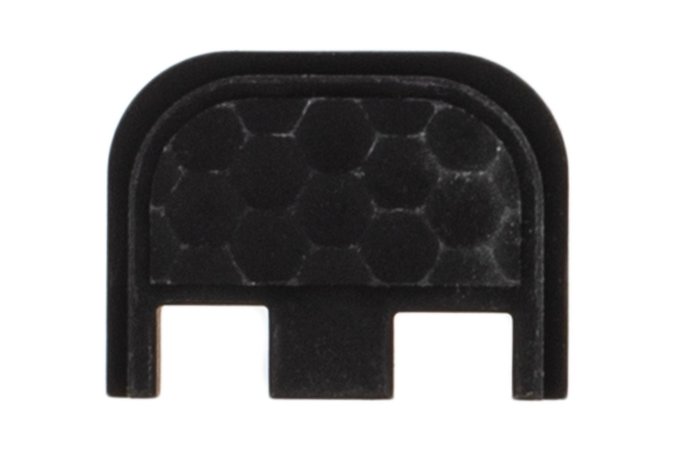 Zev Tech Aluminum Glock Back Plate features a honeycomb pattern