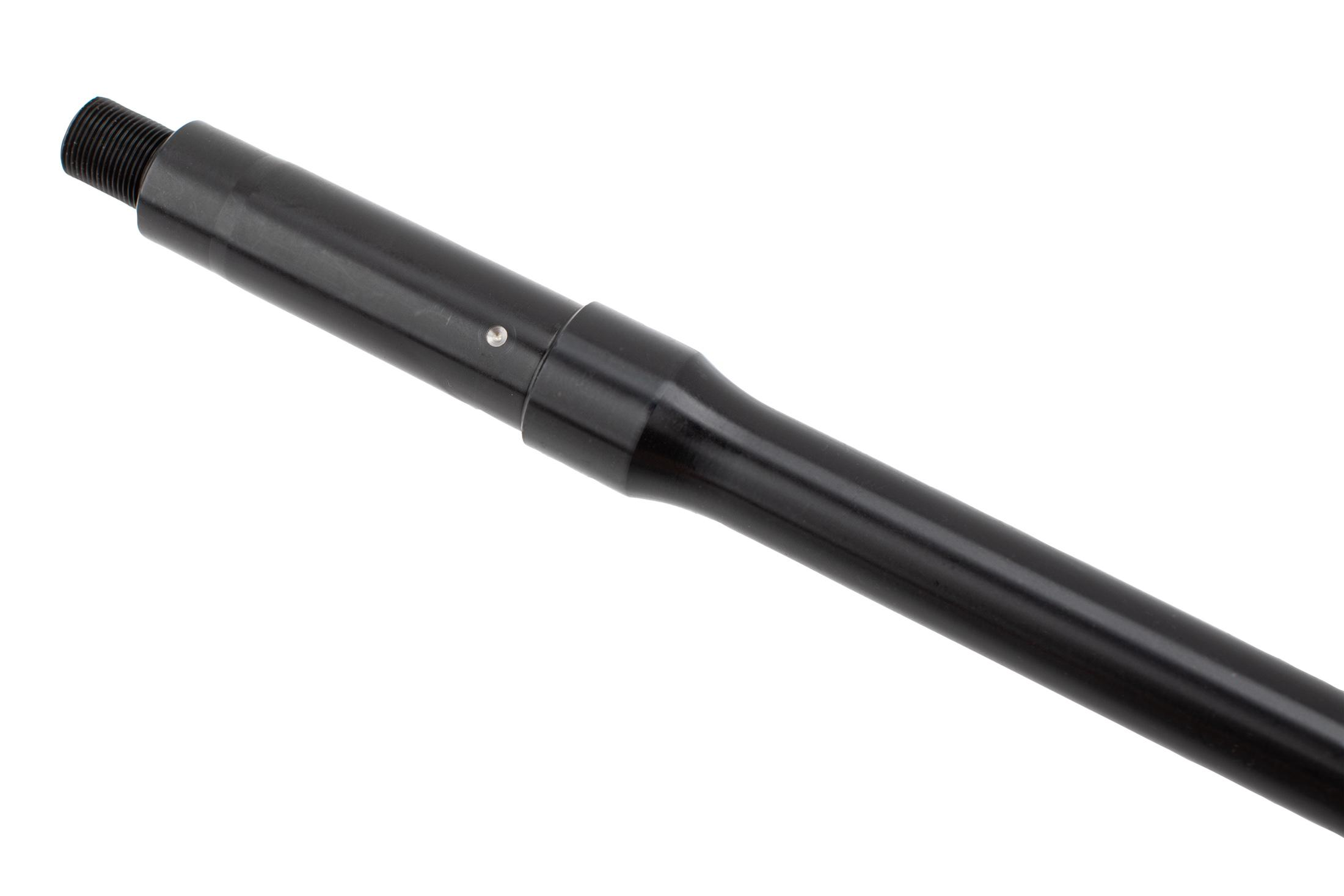 Roscoe Manufacturing bloodline 10.5in 5.56 NATO AR barrel features a tough nitride finish and M4 barrel extension.