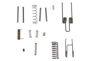 This DMPS spring kit has all you need to finish your stripped ar15 lower receiver