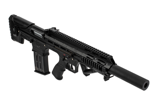 Panzer Arms BP12 Bullpup shotgun features a 20 inch barrel