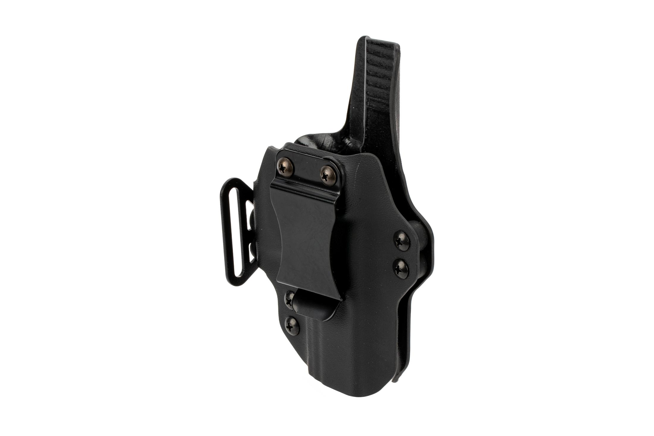 BlackPoint Tactical Dual Point AIWB holster for S&W M&P Shield handguns - Right Hand - Black