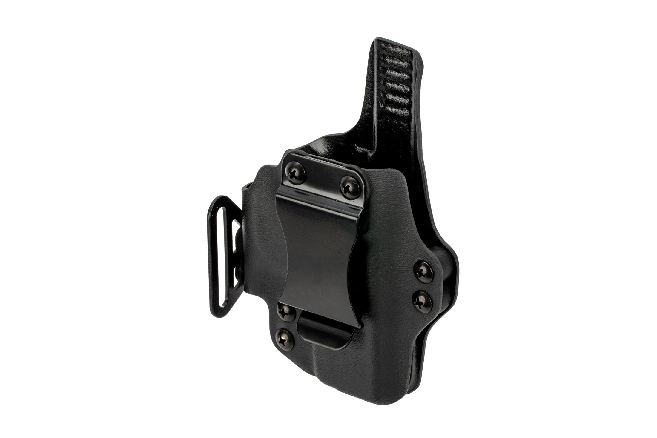 BlackPoint Tactical Dual Point AIWB holster for Glock G43 handguns - Right Hand - Black