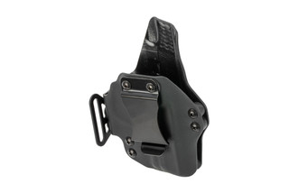 BlackPoint Tactical Dual Point AIWB holster for Glock G19 handguns - Right Hand - Black