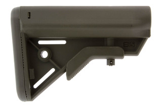 The B5 Systems BRAVO Stock OD Green is made from durable and lightweight polymer