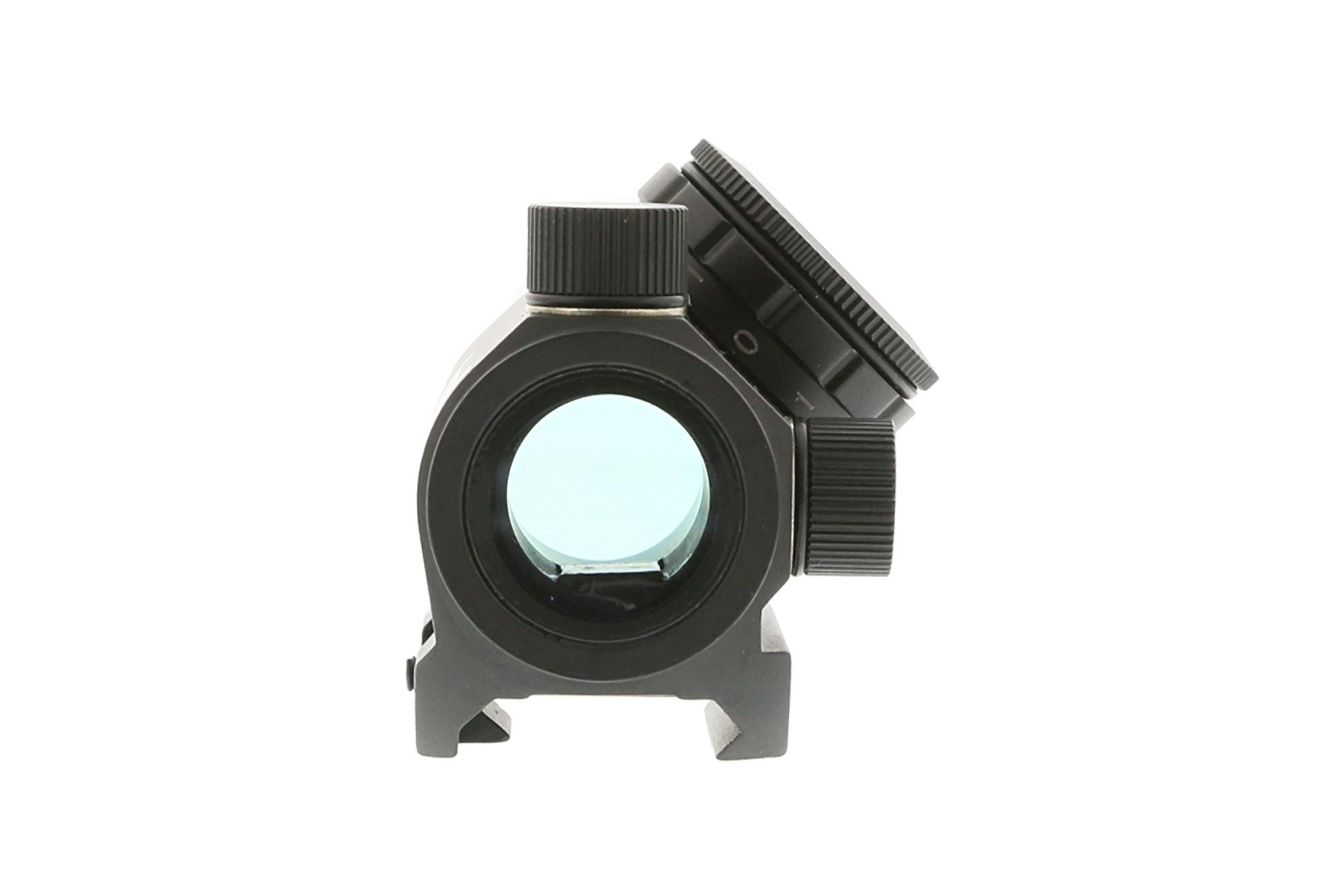 The bushnell microdot sight has fully multicoated amber lens designed for high resolution in wooded areas