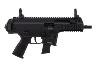 B&T APC10 10mm pistol comes with folding sights