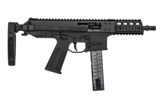 B&T GHM9 G2 9mm pistol comes with a tailhook arm brace