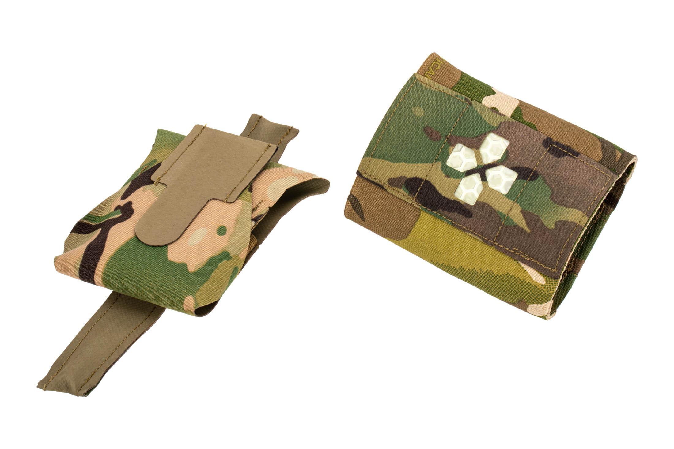 The Blue Force Gear Micro Trauma Kit Now separates into two pouches