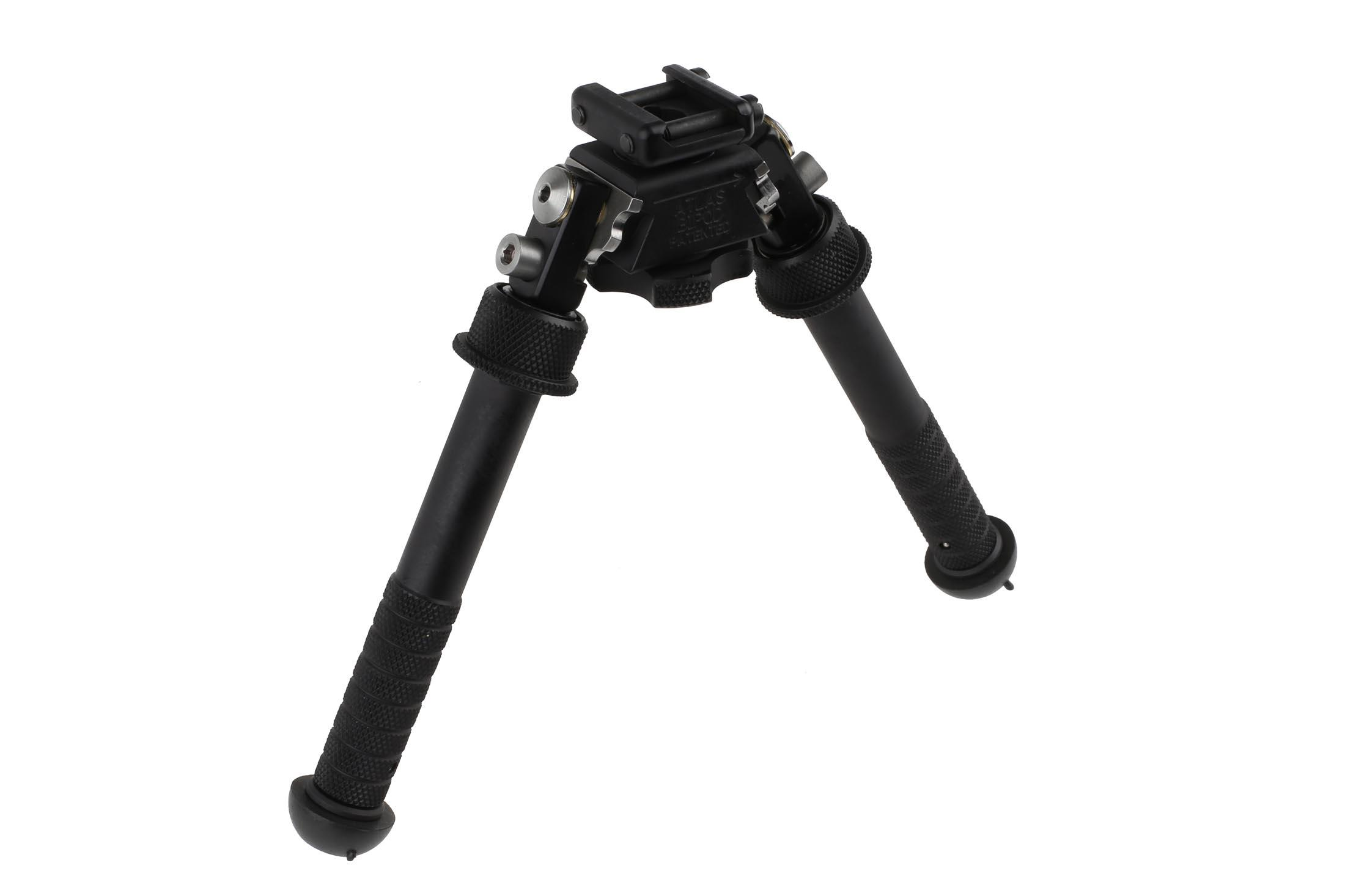 The Atlas Bipod V8 is highly adjustable for various terrain types
