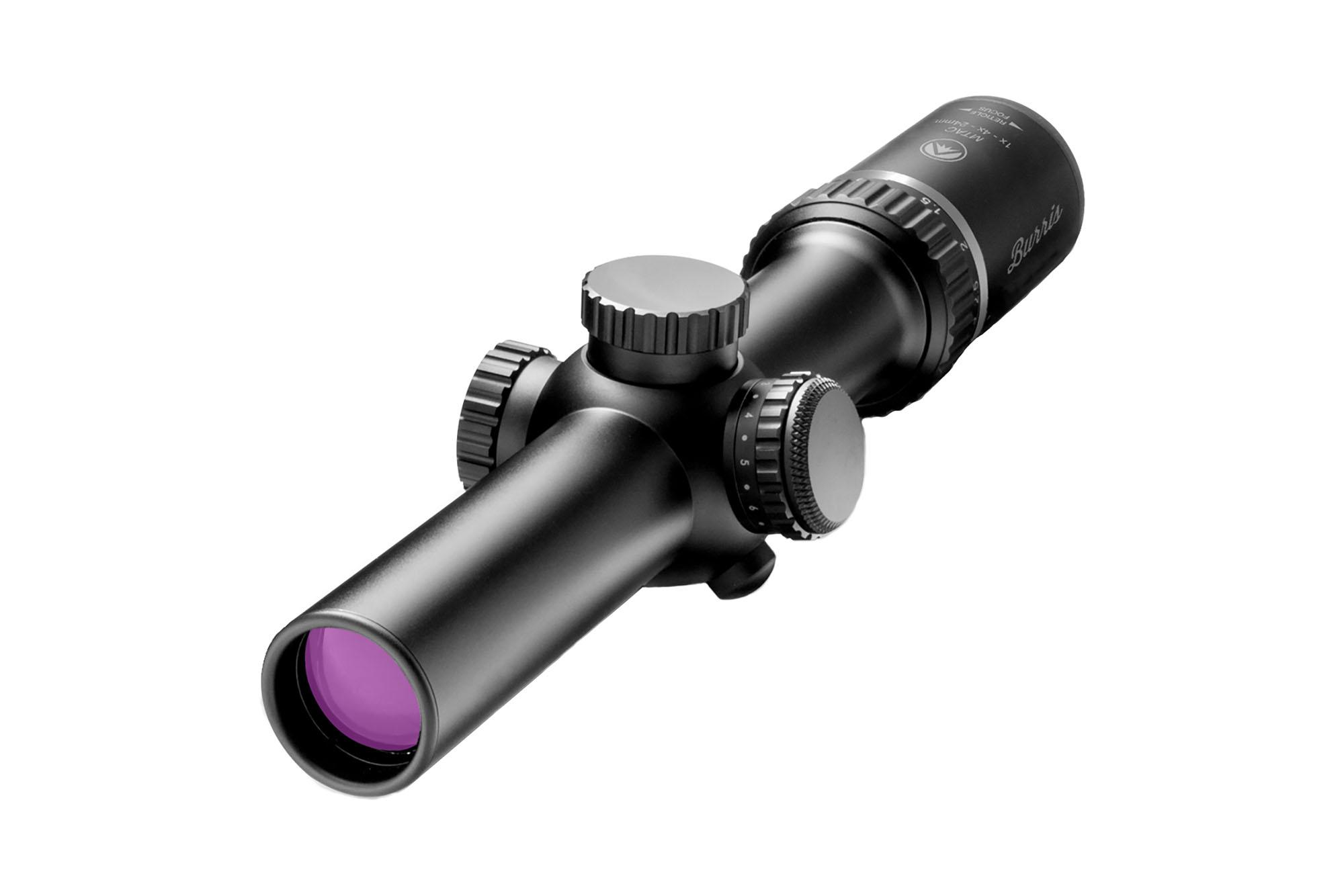Burris Optics MTAC Riflescope 1-4x24mm - Ballistic CQ Reticle