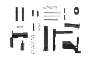 Guntec USA AR-308 builder lower parts kit does not include a trigger or pistol grip but other high quality MIL-SPEC components.