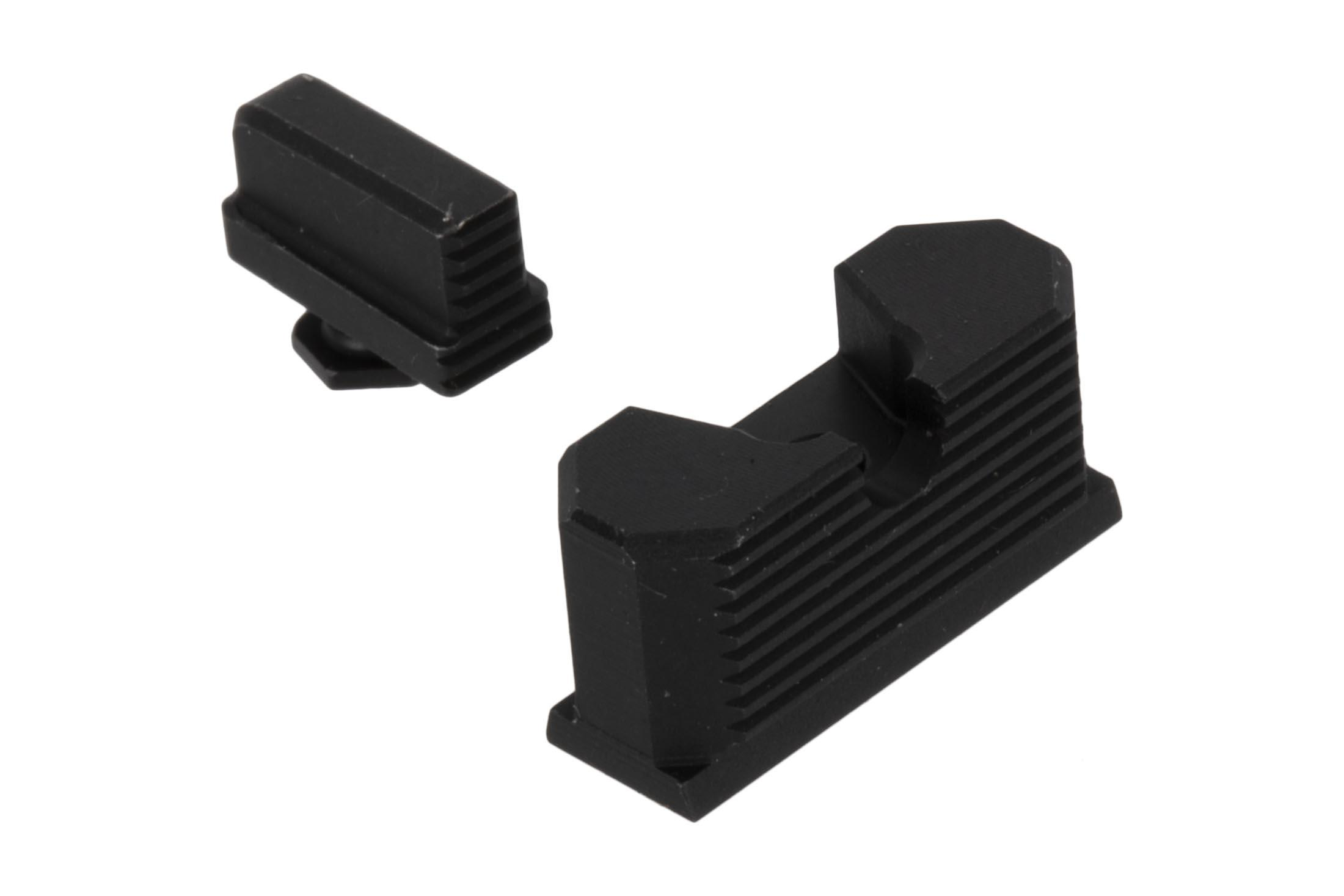Continuous Precision RDS Back-Up Sight Set includes .250 front sight for most Compact and Subcompact Glock Handguns